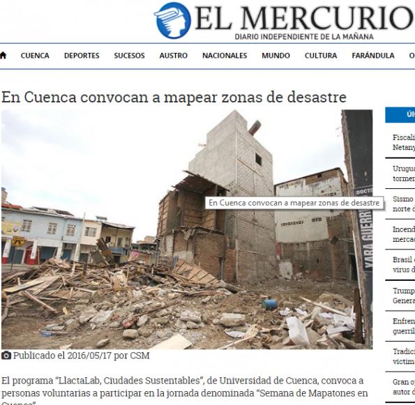 en-cuenca-convocan-a-mapear-zonas-de-desastre