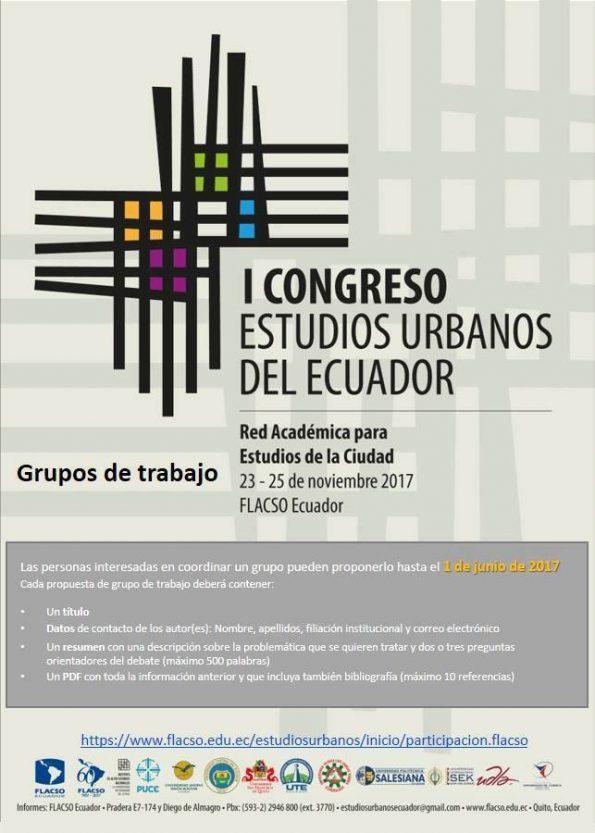 Congreso_red academica para estudios de ciudad