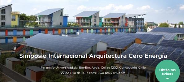 Simposio internacional arquitectura cero energía